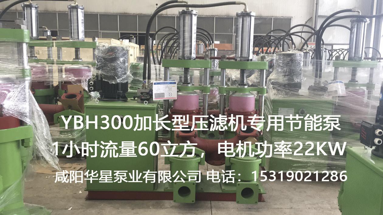 YBH300加长型压滤机专用节能泵