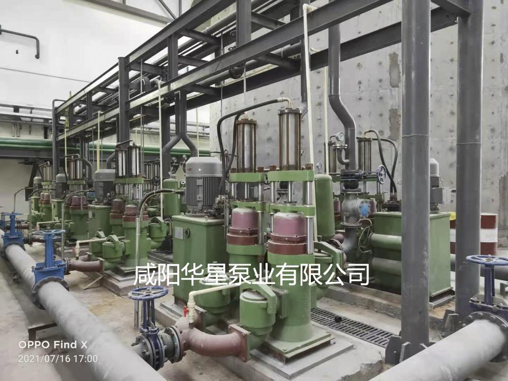 压滤机入料泵在洗煤厂使用现场